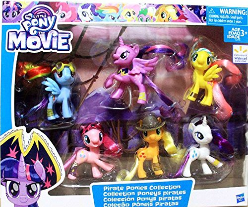 new my little pony the movie pirate ponies collection set available