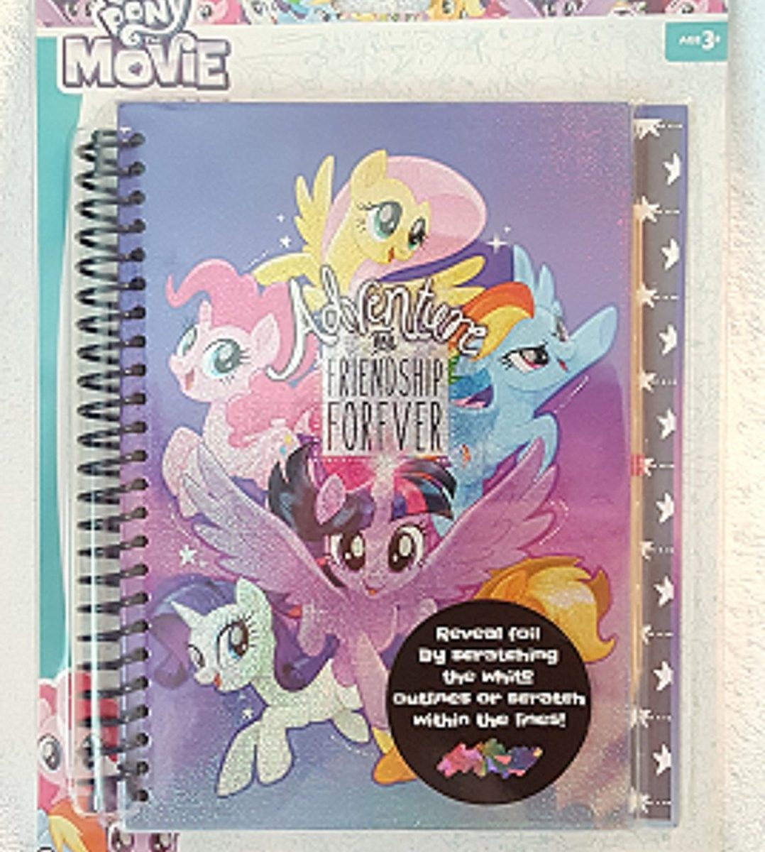 New Quot My Little Pony The Movie Quot Scratch And Sticker