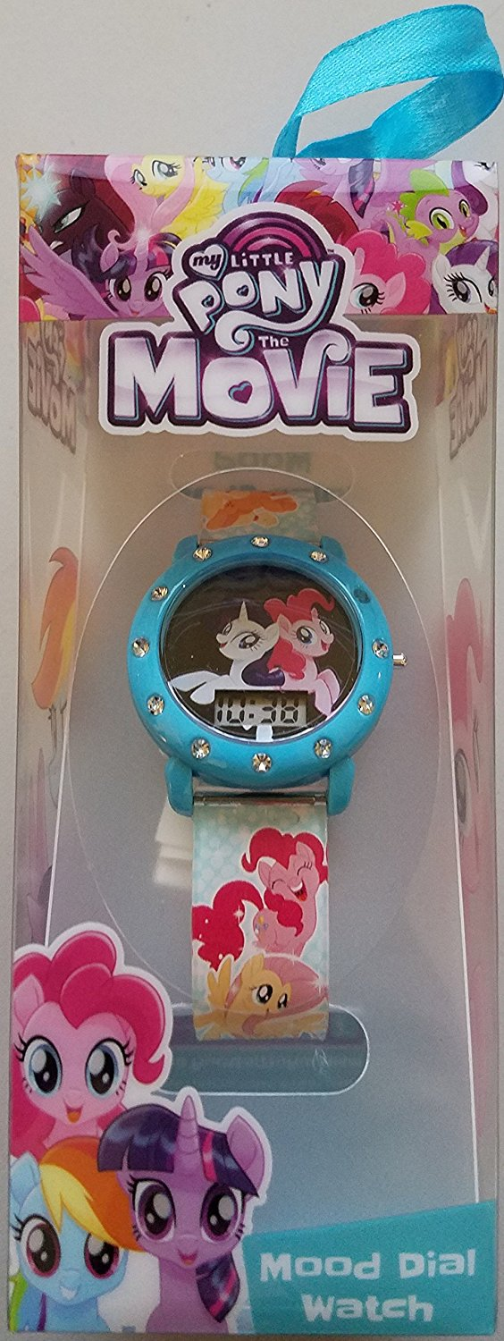 New my little pony the movie mood dial watch available on my little pony movie toys for Little pony watches