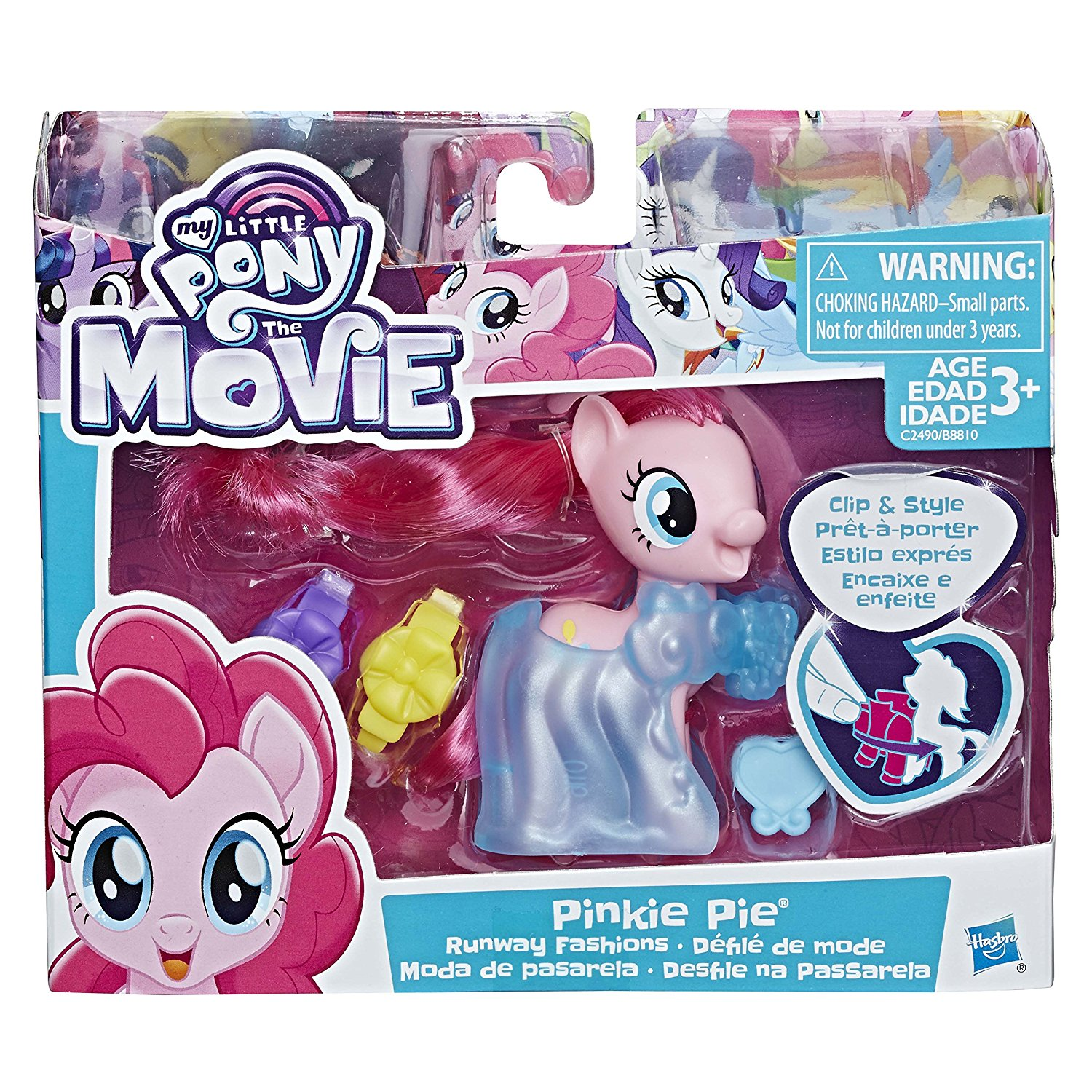 MLPTM Pinkie PieClip and Style Runway Fashions Set 1