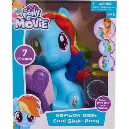 MLP: TM Rainbow Dash Cool Style Pony Set