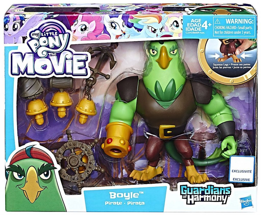 MLP: TM Boyle The Pirate Play Set 1