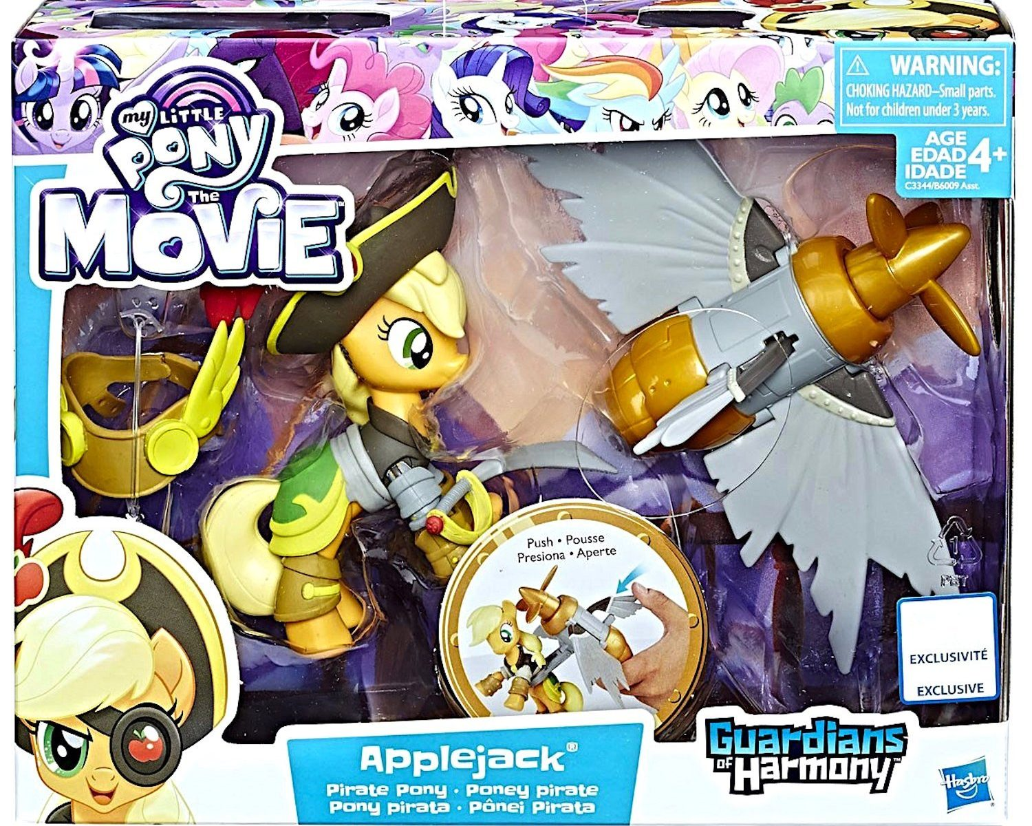 MLP: TM Applejack Pirate Pony Set 1