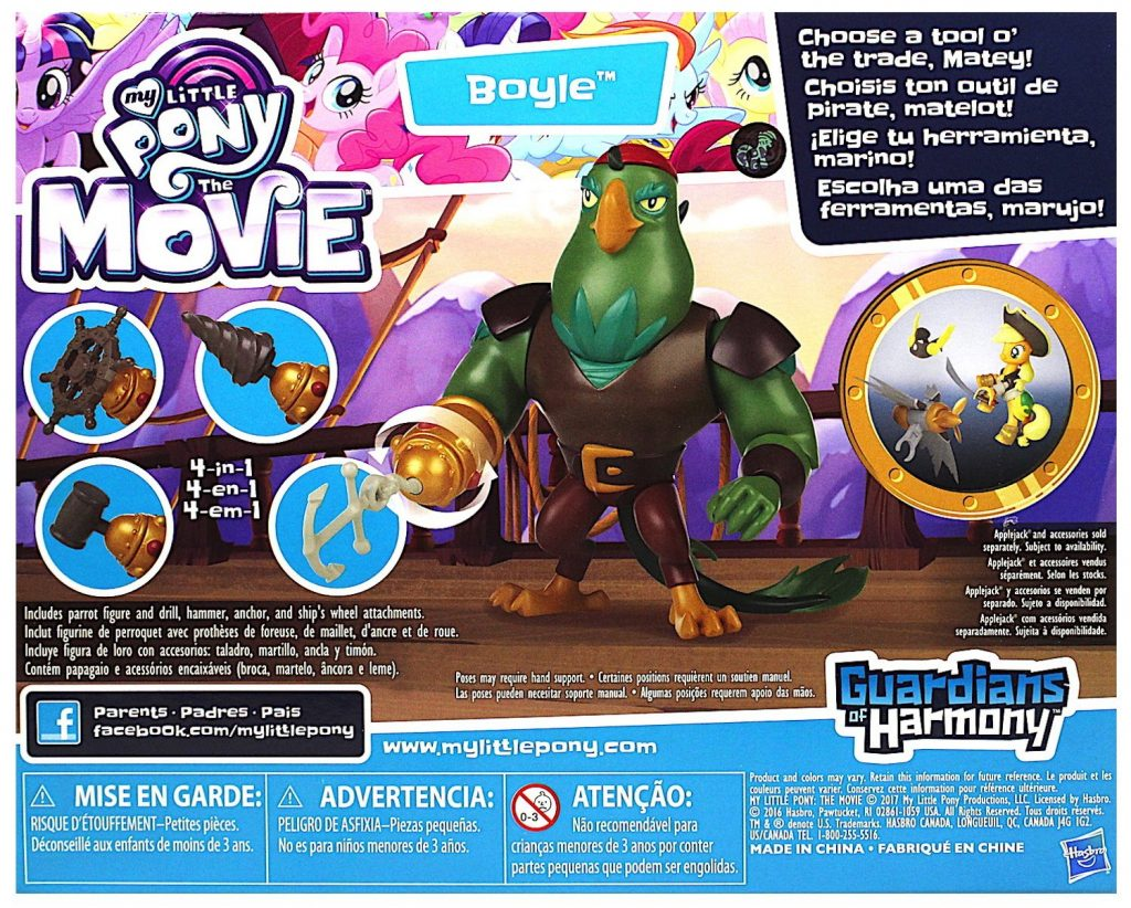 MLP: TM Boyle The Pirate Play Set 2