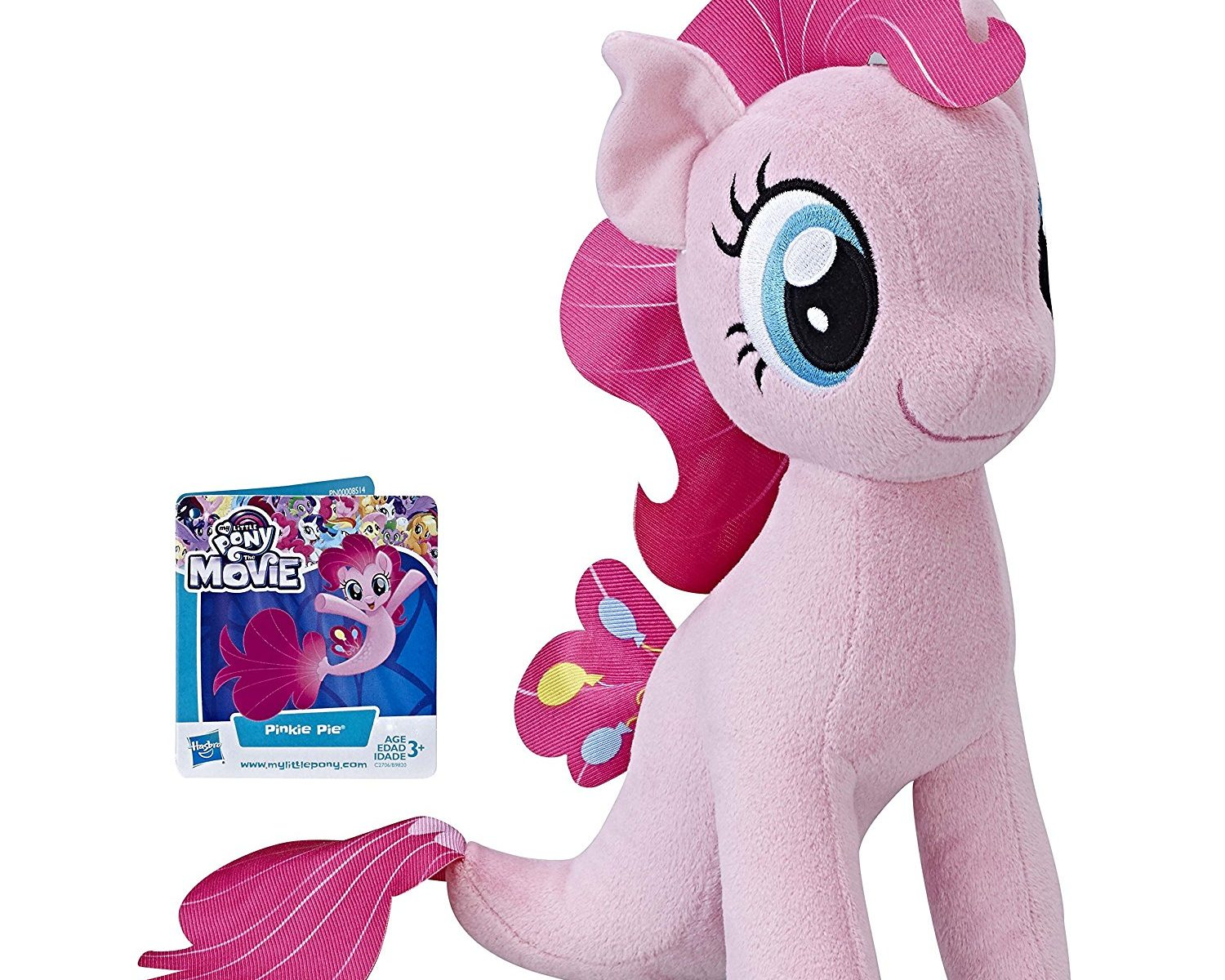 MLP: TM Pinkie Pie Sea-Pony Plush Toy