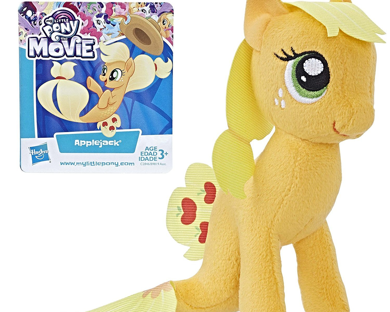 MLP: TM Applejack Sea-Pony Plush Toy
