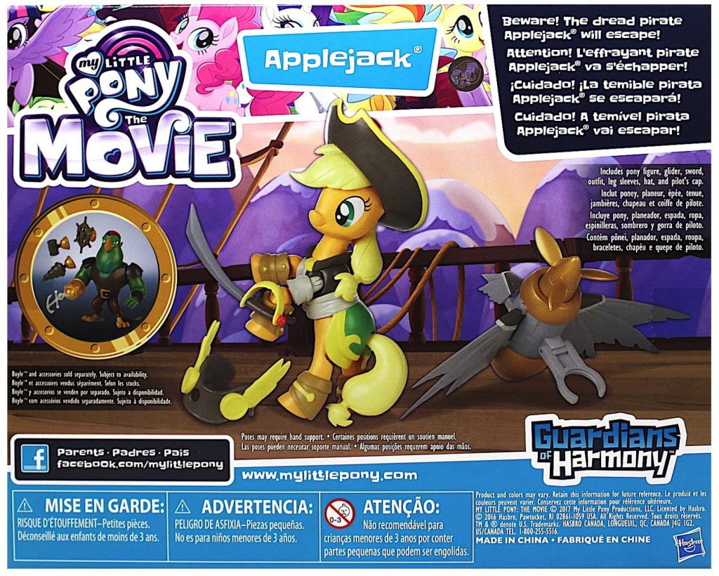 MLP: TM Applejack Pirate Pony Set 2