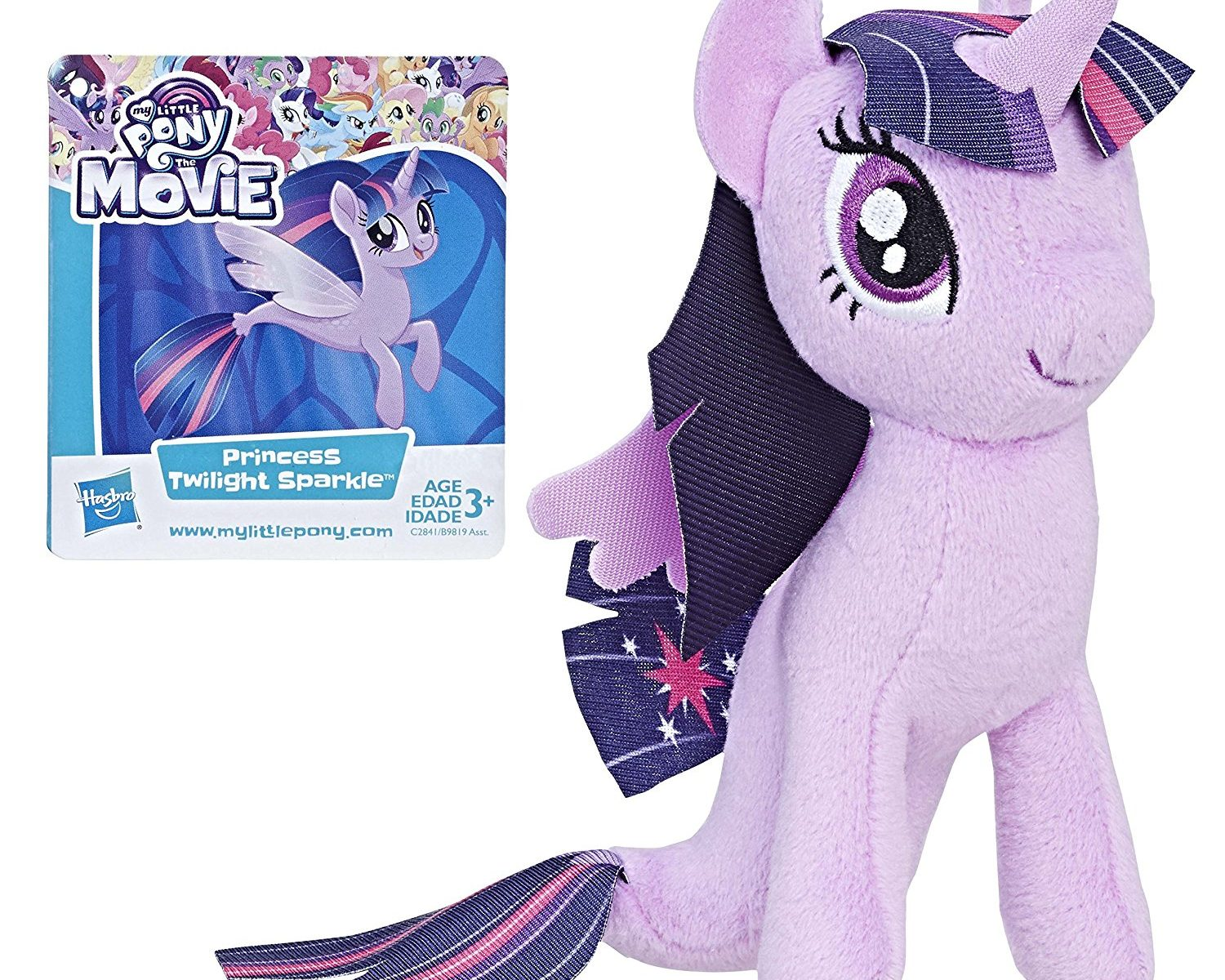 MLP: TM Movie Princess Twilight Sparkle Sea-Pony Plush Toy