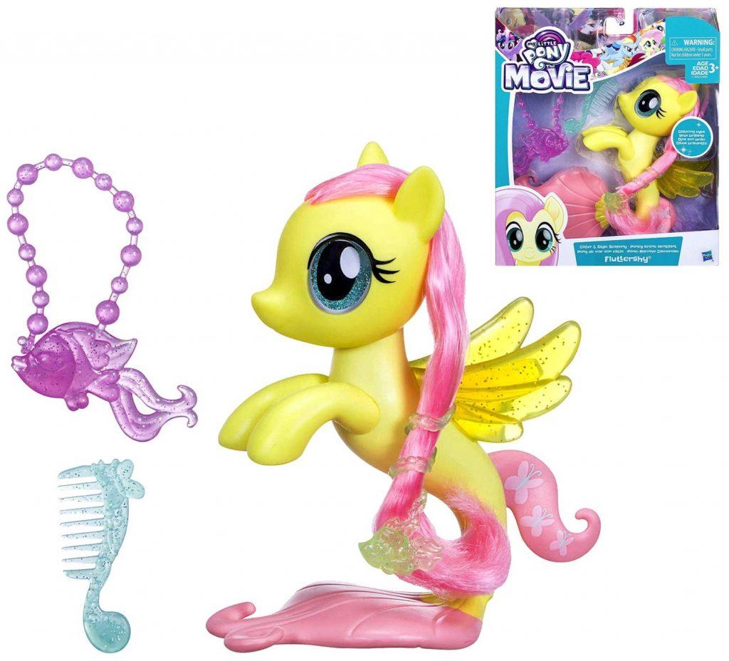 MLP: TM Glitter & Style Fluttershy Sea-Pony Set 2