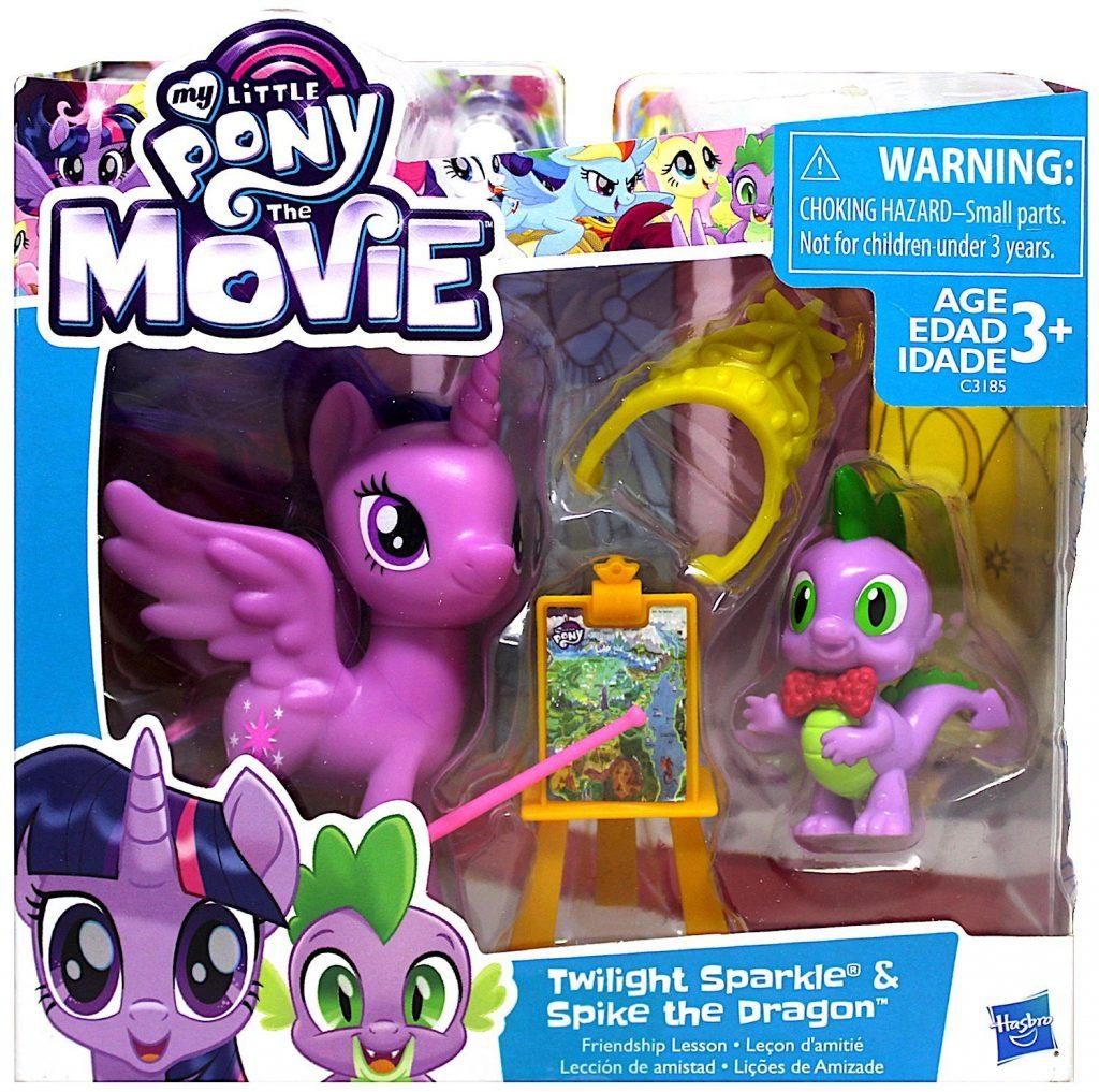 MLP: TM Twilight and Spike Figure Set