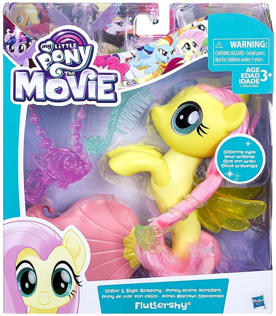 MLP: TM Glitter & Style Fluttershy Sea-Pony Set 1