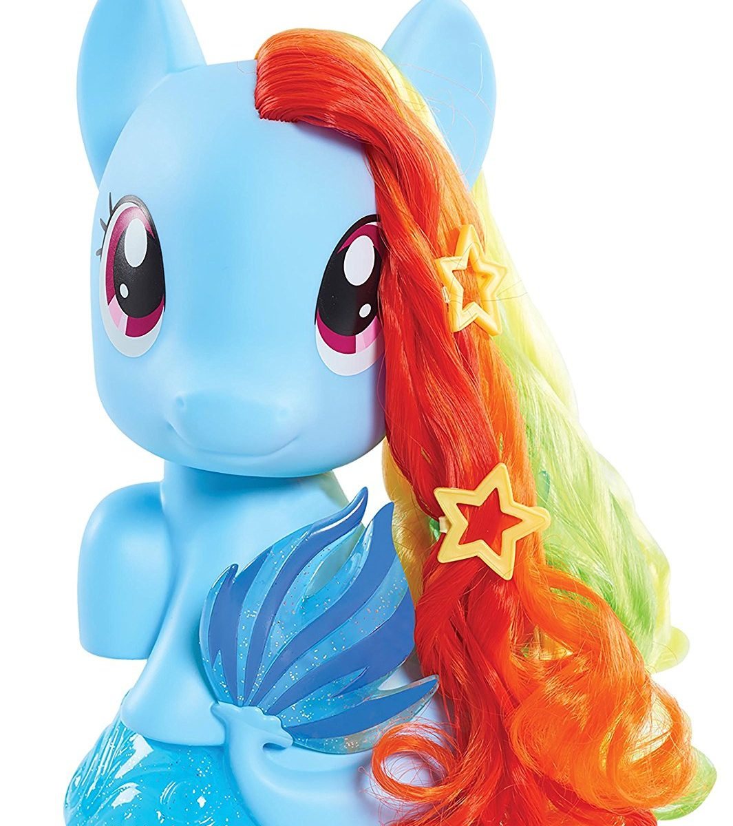MLP: TM Rainbow Dash Sea-pony Styling Head Set 2
