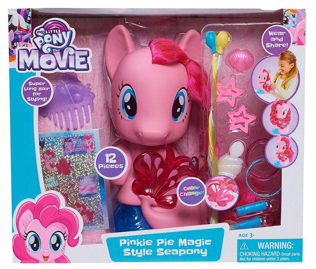 MLP: TM Pinkie Pie Magic Sea-pony styling head set 1