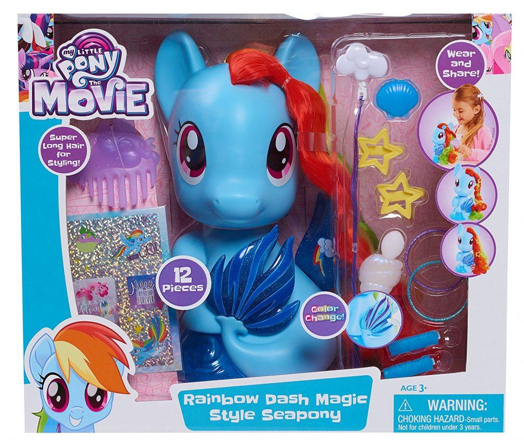 MLP: TM Rainbow Dash Sea-pony Styling Head Set 1