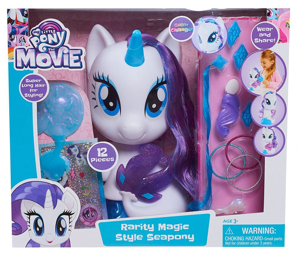 MLP: TM Rarity magic sea-pony styling head set 1