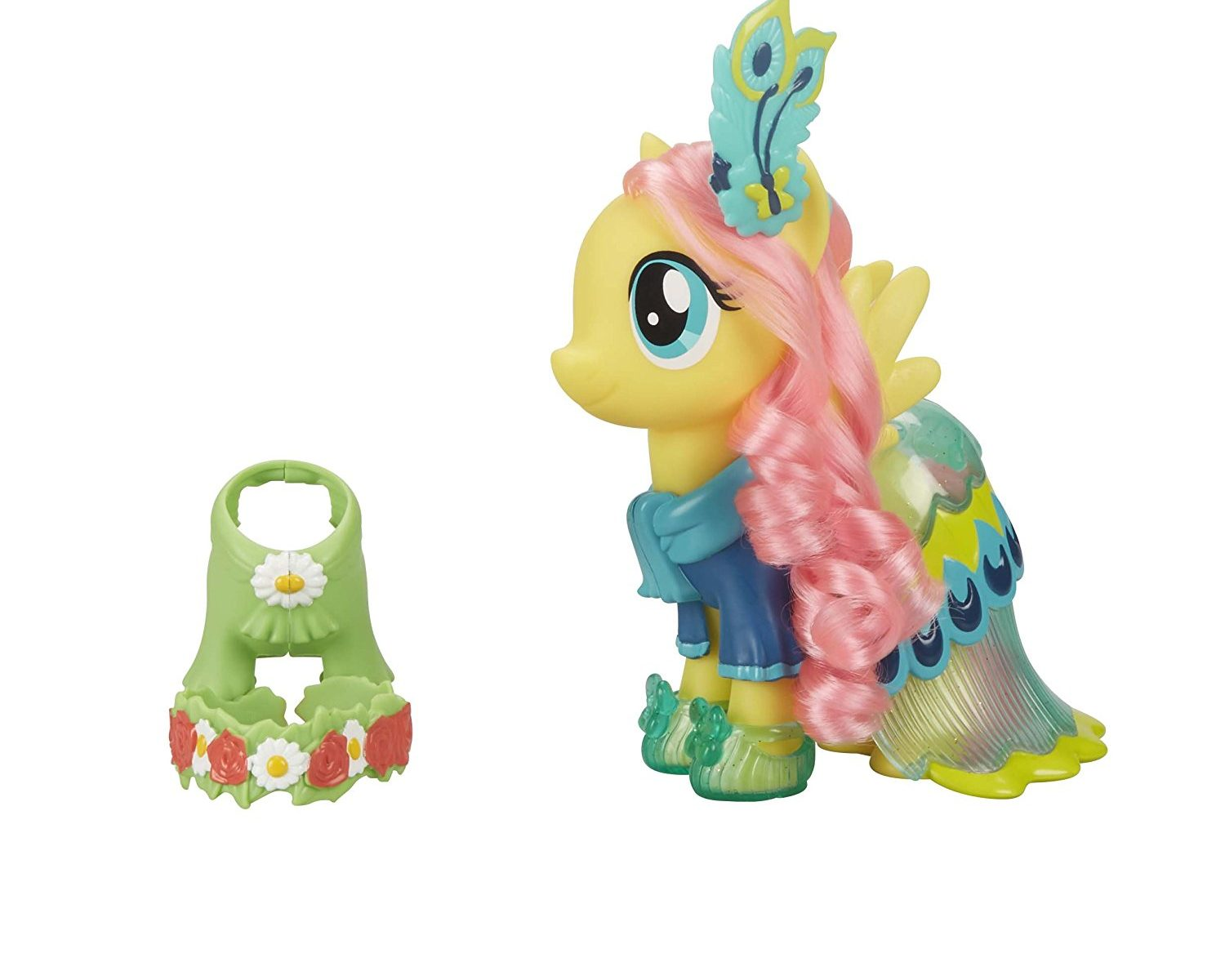 """New """"My Little Pony: The Movie"""" Snap-On Fashion Fluttershy Figure Set  available on Amazon.com - My Little Pony Movie Toys"""