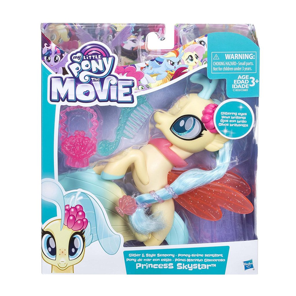 MLP: TM Glitter & Style Princess Skystar Sea Pony Figure Set 1