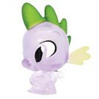 MLP: TM Spike The Dragon Clear Fash'em Figure