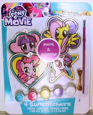 My LIttle Pony Sun Catchers Suncatchers Craft Paint Art Activity Painting Set