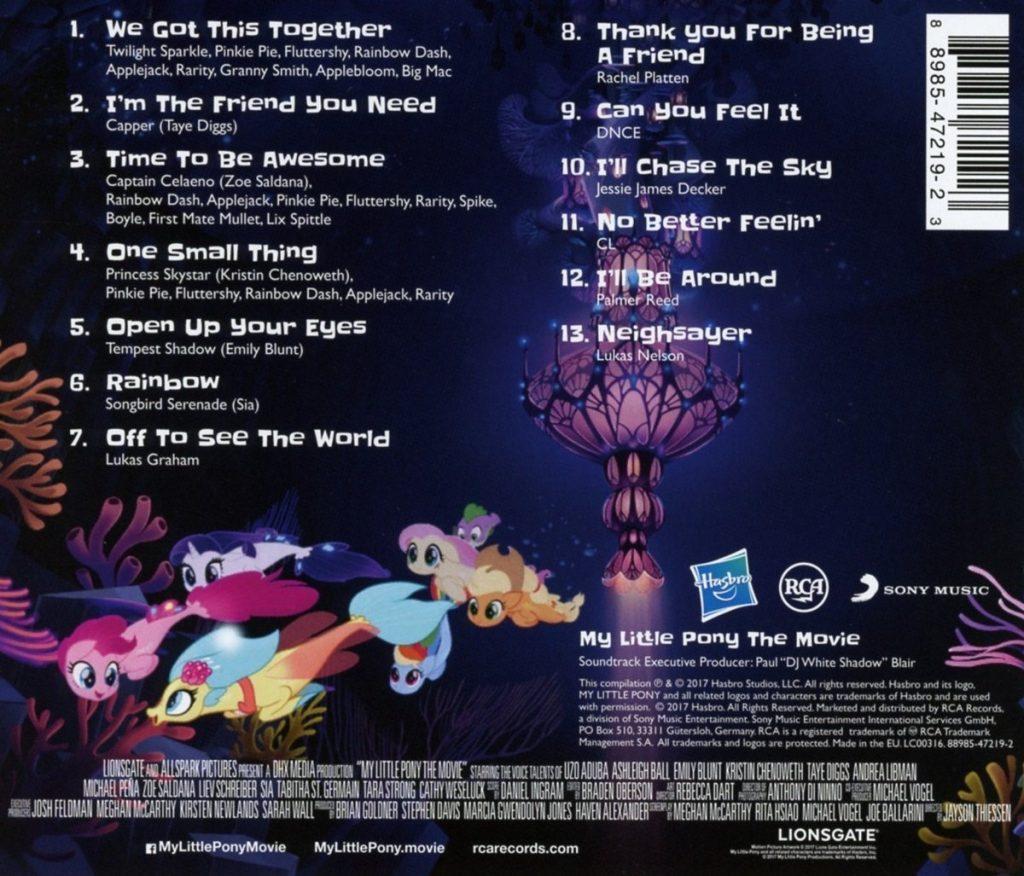 MLP: TM Soundtrack CD 2