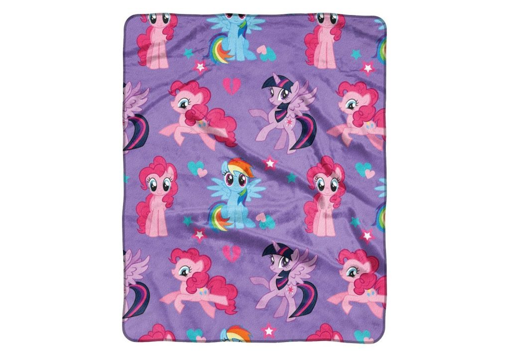 MLP: TM Character Pillow and Throw Blanket Set 2