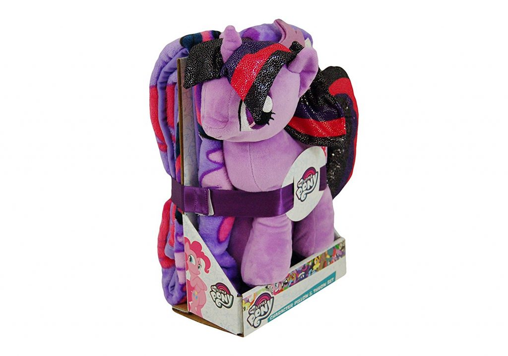 MLP: TM Character Pillow and Throw Blanket Set 1
