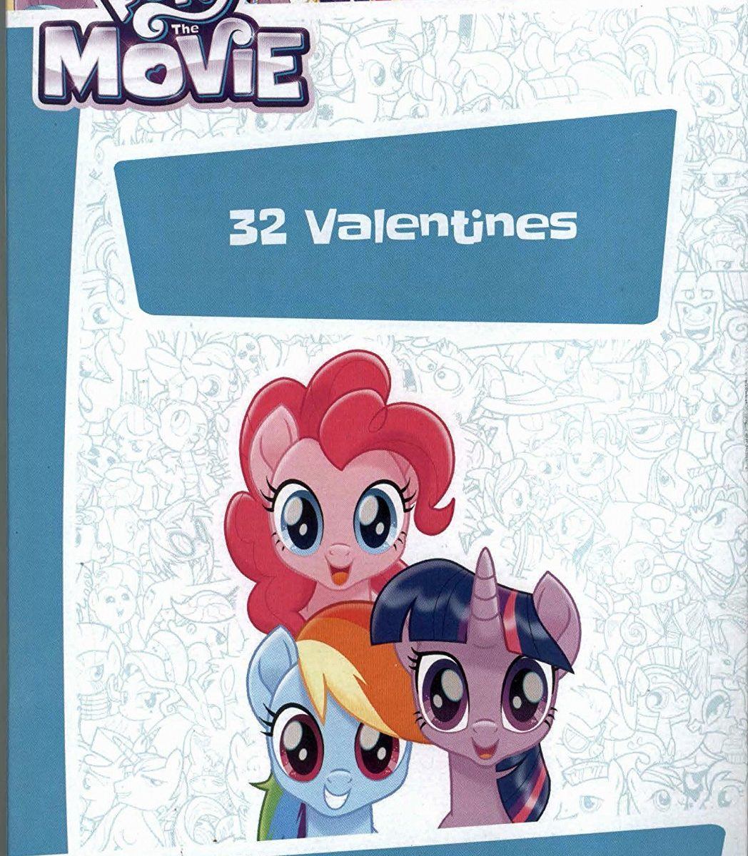 New My Little Pony The Movie Valentines Day Card Classroom