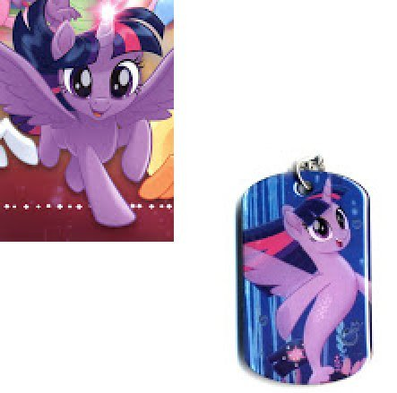 MLP: TM Princess Twilight Sparkle Dog Tag and Trading Card Set