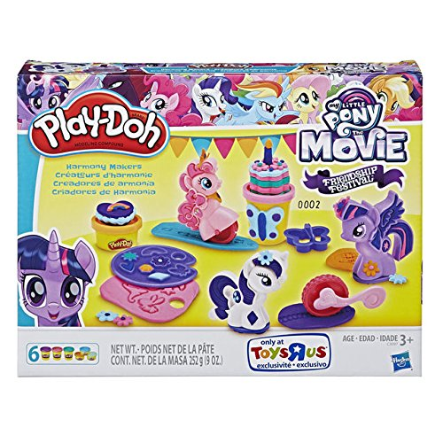 MLP: TM Play-Doh Friendship Festival Harmony Makers Set 1