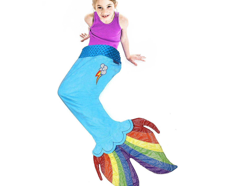 MLP: TM Rainbow Dash Sea Pony Tail Blanket 2
