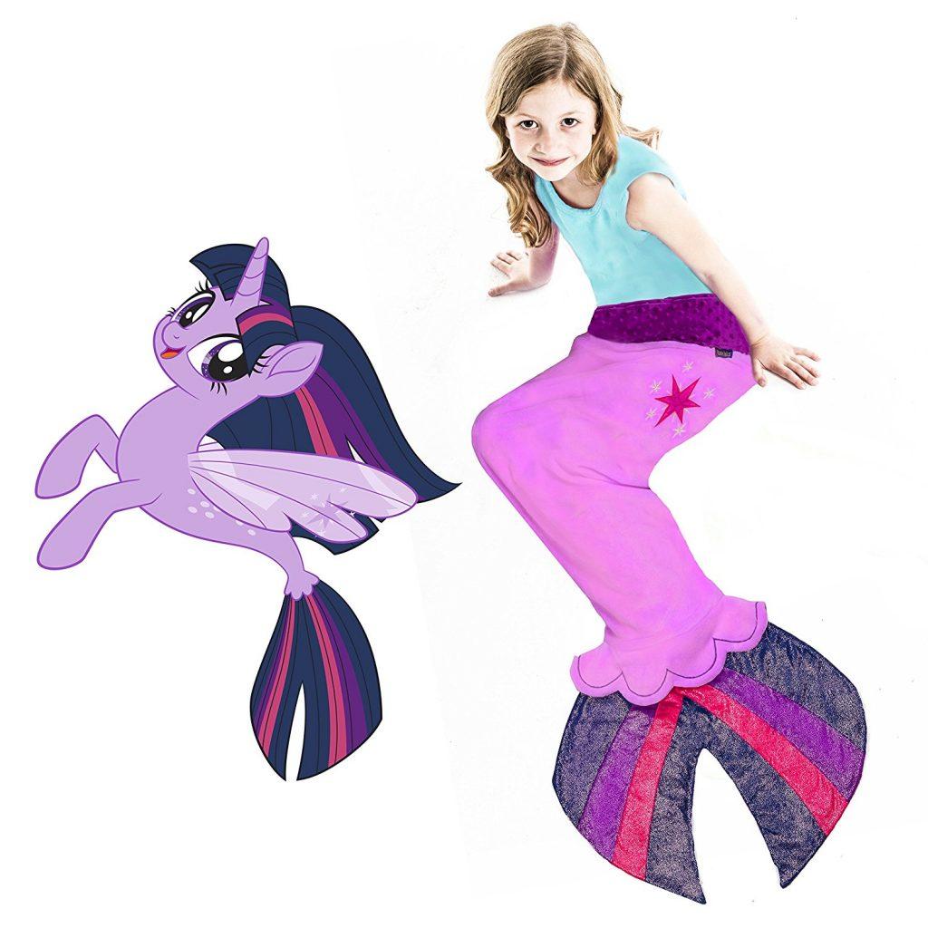 MLP: TM Twilight Sparkle Sea Pony Tail Blanket 1