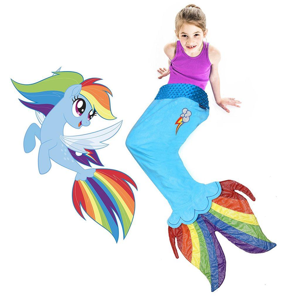 MLP: TM Rainbow Dash Sea Pony Tail Blanket 1