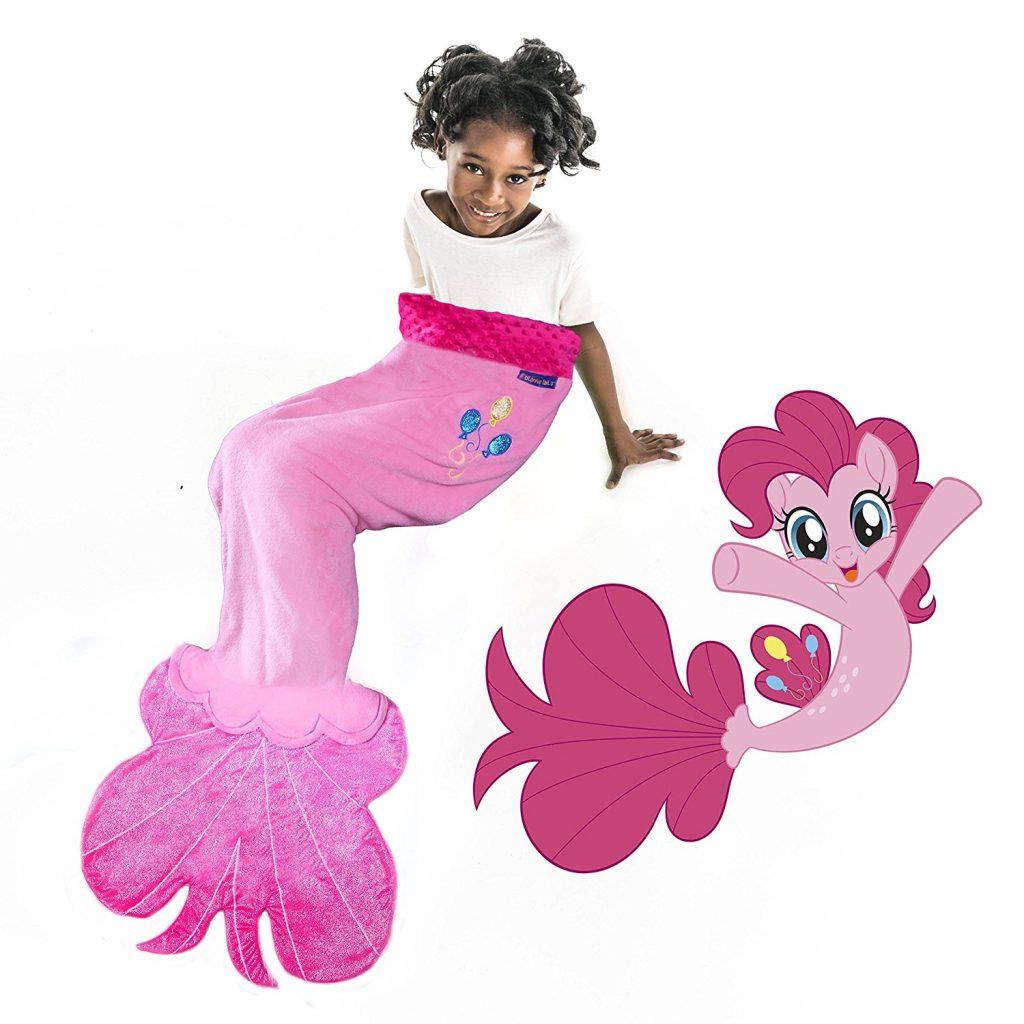 MLP: TM Pinkie Pie Sea Pony Tail Blanket 1