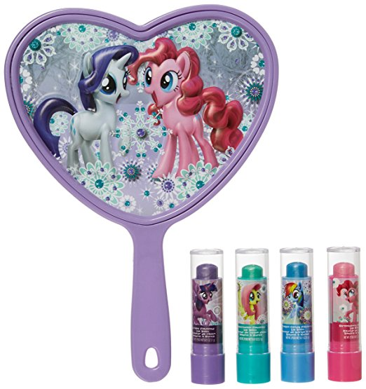 New My Little Pony The Movie Sparkly Lip Balm Set Available On Amazon Com My Little Pony Movie Toys
