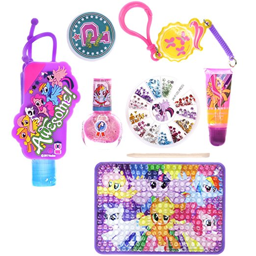 "Amazon Com Princess Nail Salon: New ""My Little Pony: The Movie"" Cosmetic Set For Girls"