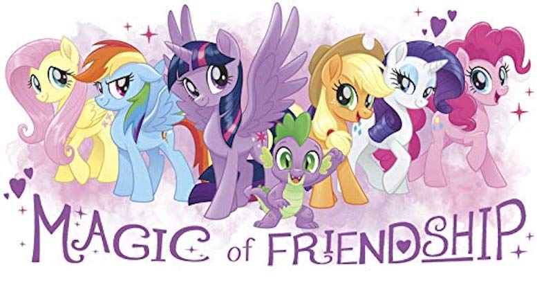 Magic Of Friendship Wall Decal