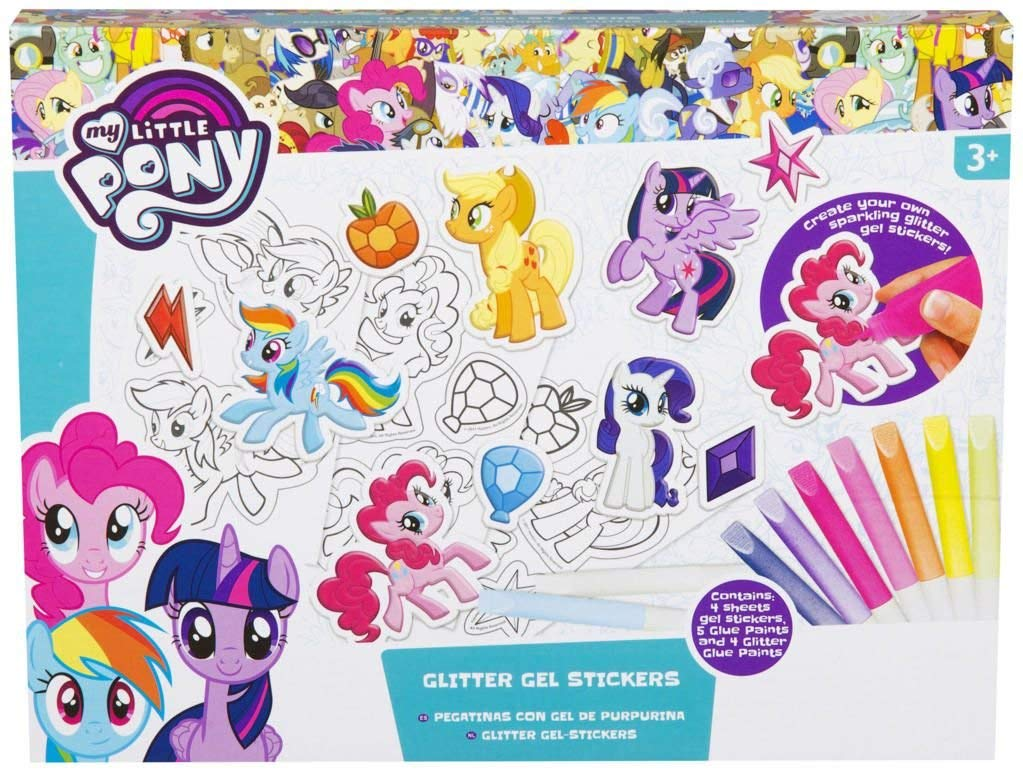 MLP: TM Glitter Gel Stickers Set 1