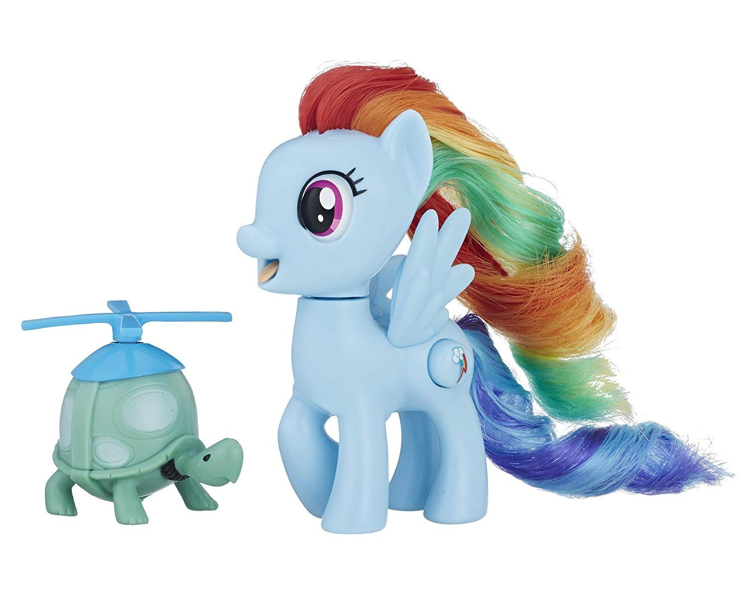 MLP: TM Silly Looks Rainbow Dash and Tank Figure 2-pack 2