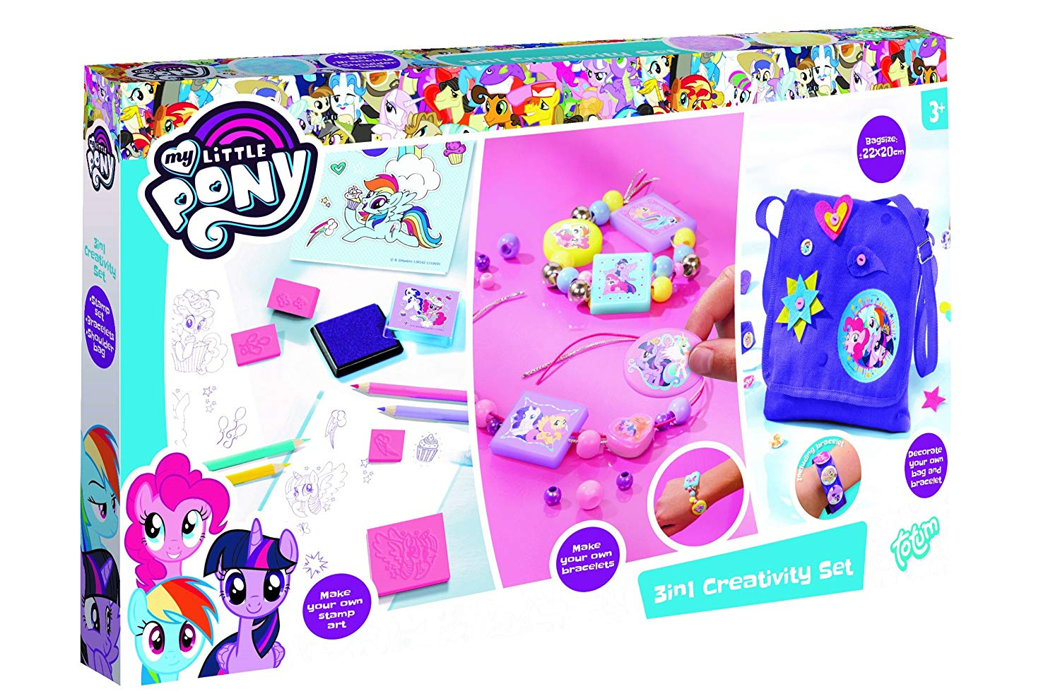 MLP: TM 3-In-1 Creativity Set