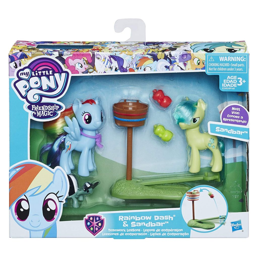 MLP: TM Rainbow Dash & Sandbar Figure 2-Pack 1