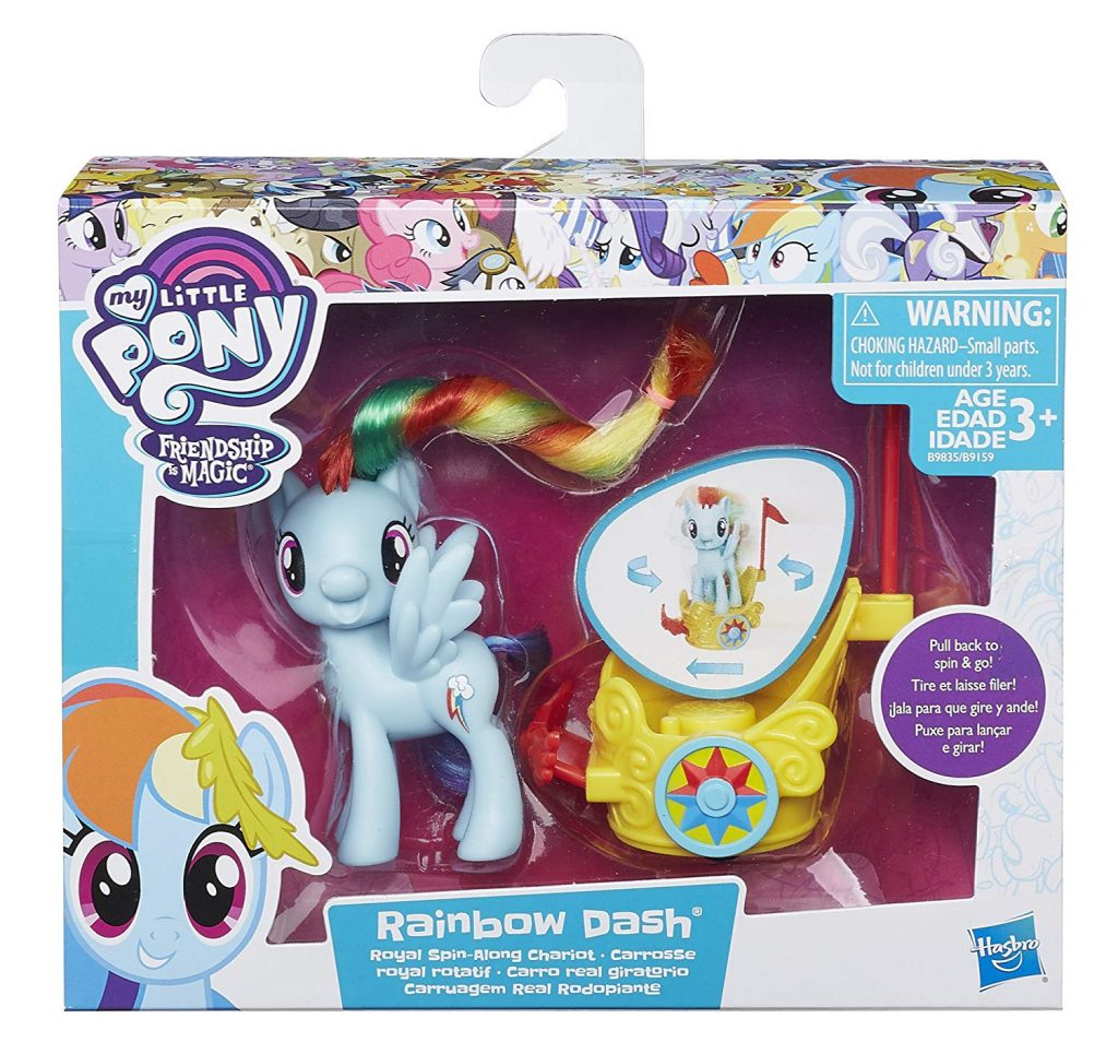 MLP: TM Rainbow Dash Royal Spin-Along Chariot Set 1