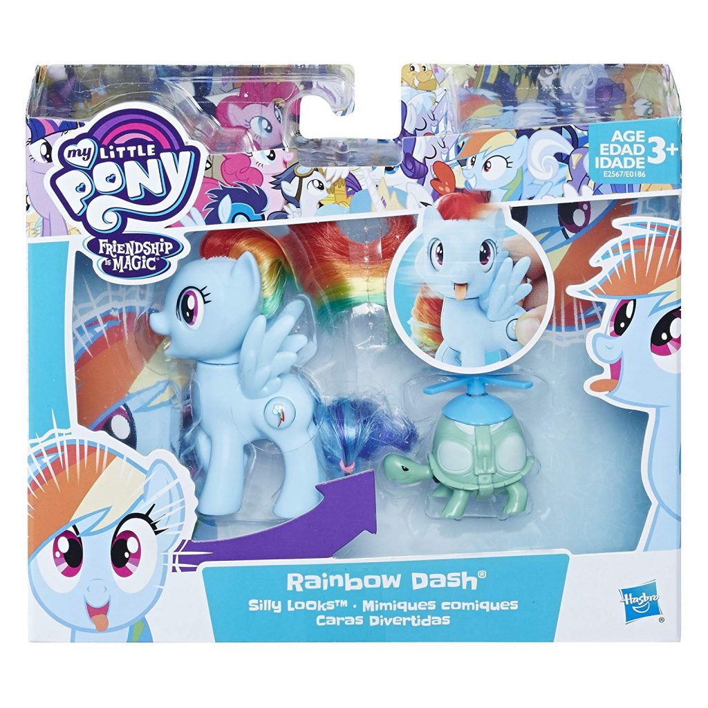 MLP: TM Silly Looks Rainbow Dash and Tank Figure 2-pack 1