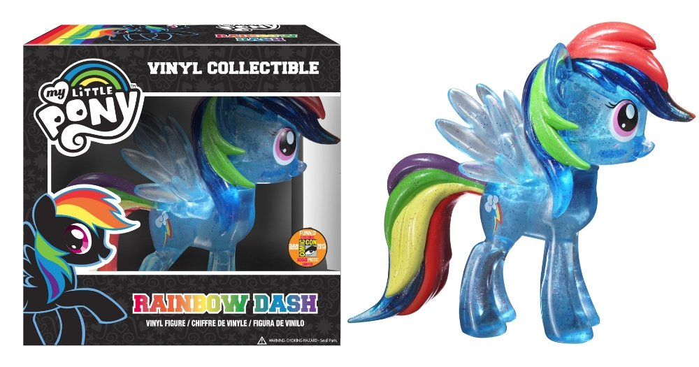 MLP: TM Rainbow Dash Vinyl Glitter Figure