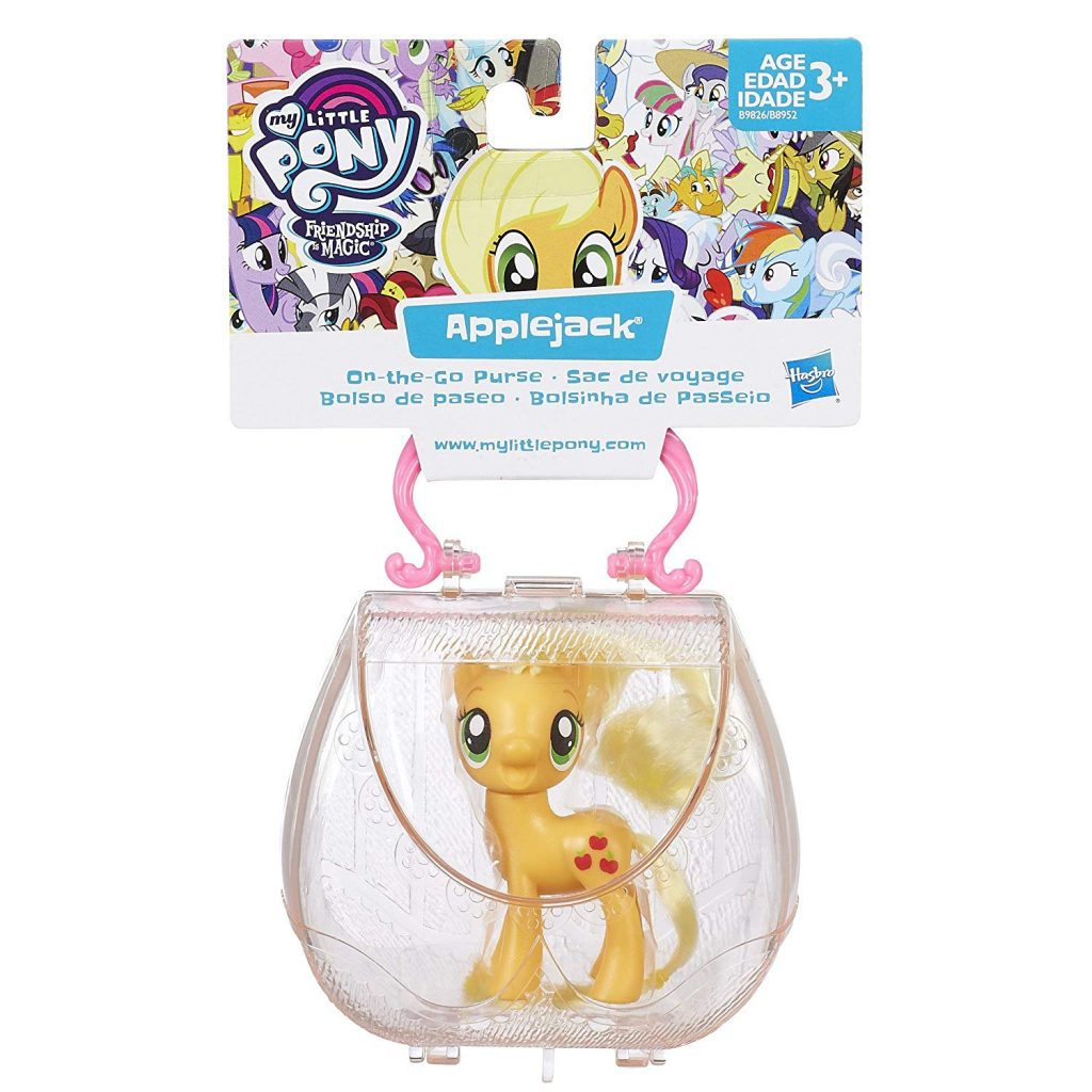 MLP: TM Applejack On-The-Go Purse Figure set 1
