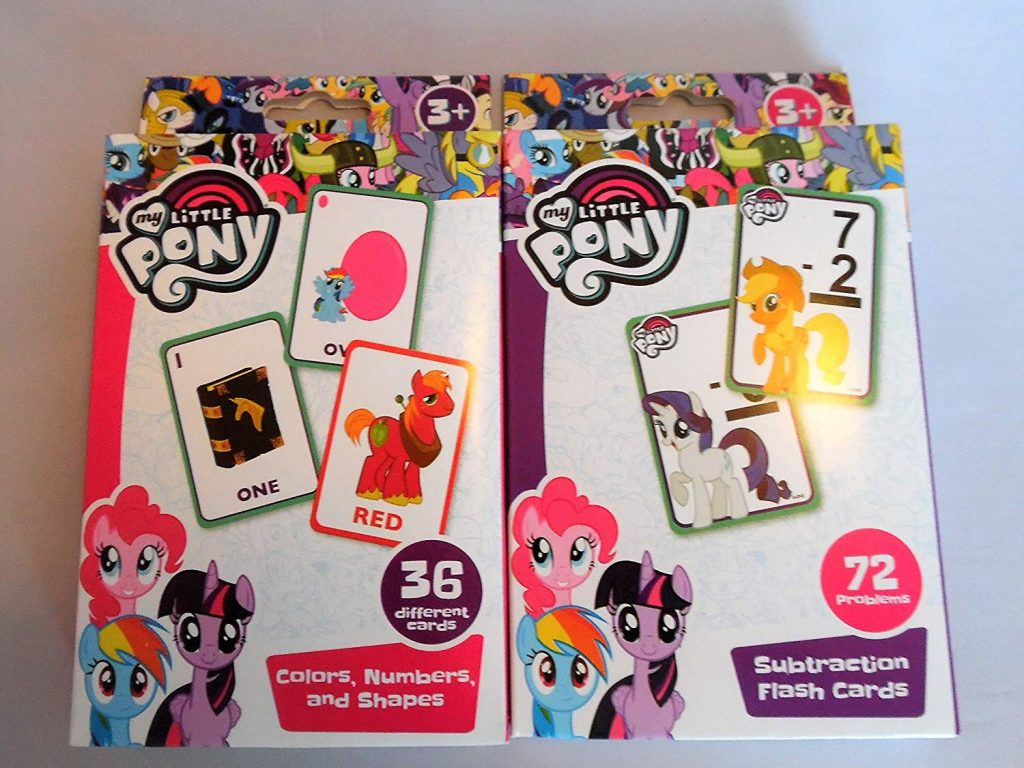 MLP: TM Flash Cards 2-Pack 1