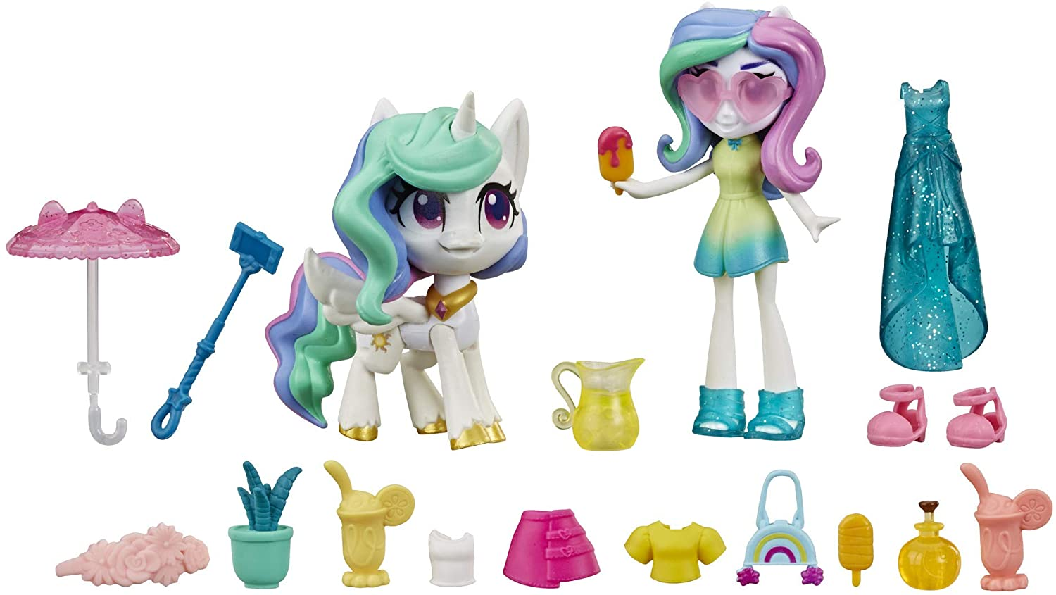 MLP Princess Celestia Potion Mini Figure Set 2