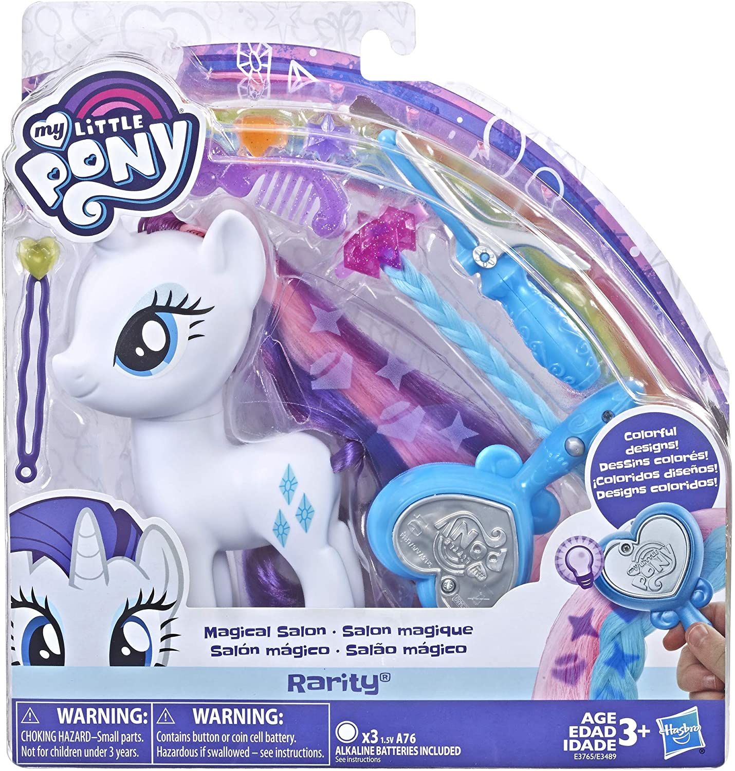 MLP Rarity Magical Salon Figure 1