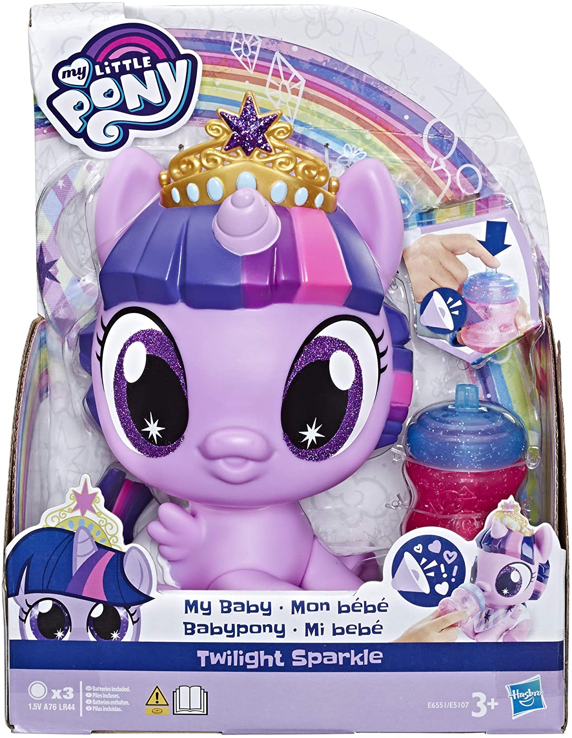 MLP My Baby Princess Twilight Figure Doll 1