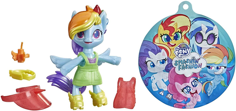 MLP: PL Rainbow Dash Smashin' Fashion Figure Set 3