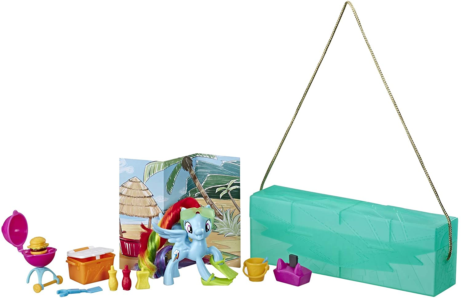 MLP Rainbow Dash On-The-Go Figure Set 2